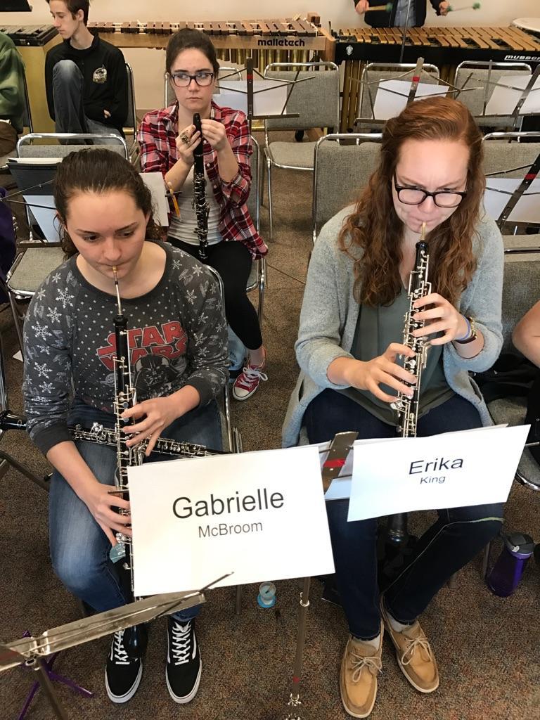 Gabrielle McBroom & Erika King - Oboes - Eastern Regional Orchestra
