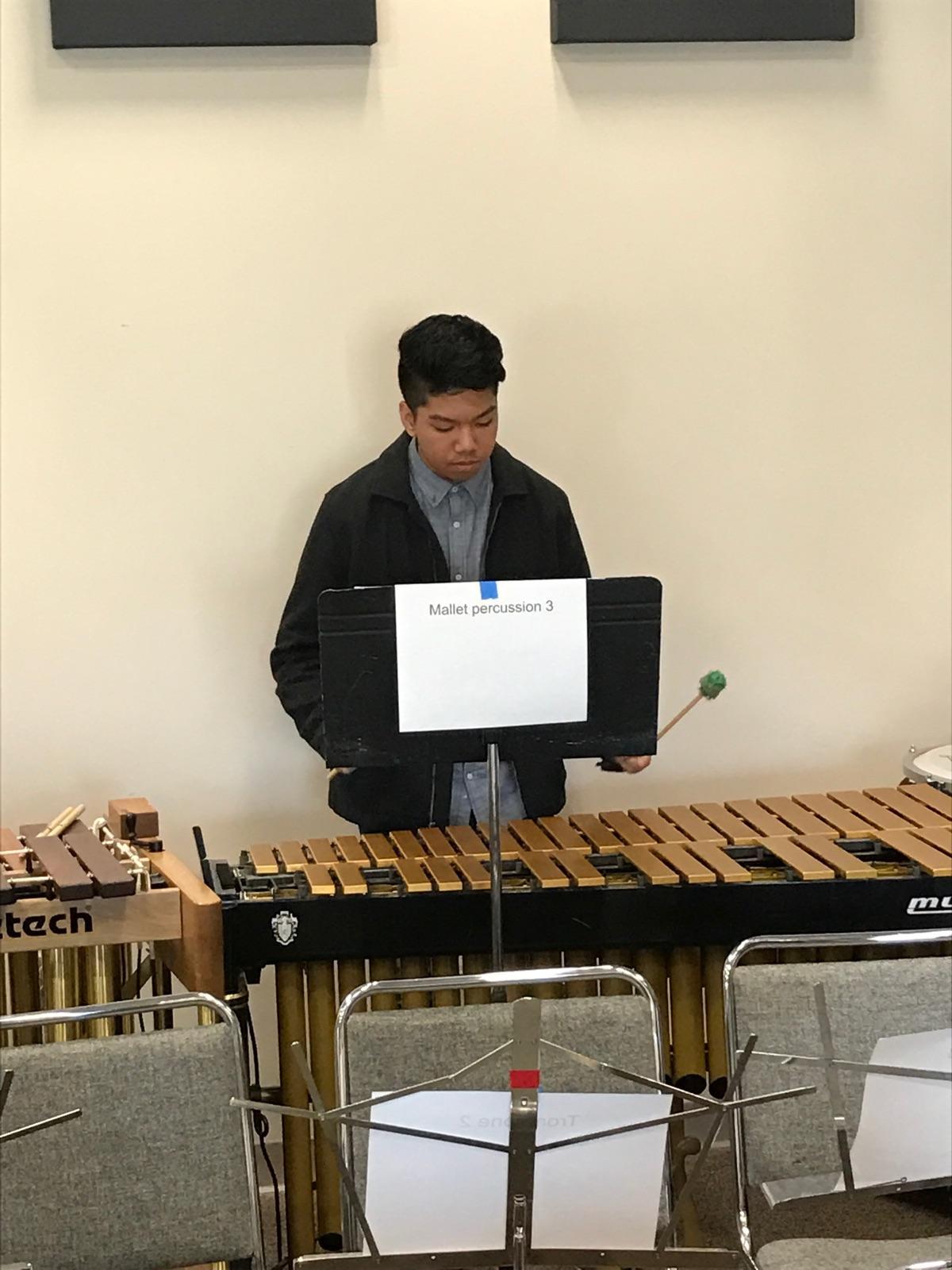 Rico Castillo - Mallets - Eastern Regional Orchestra