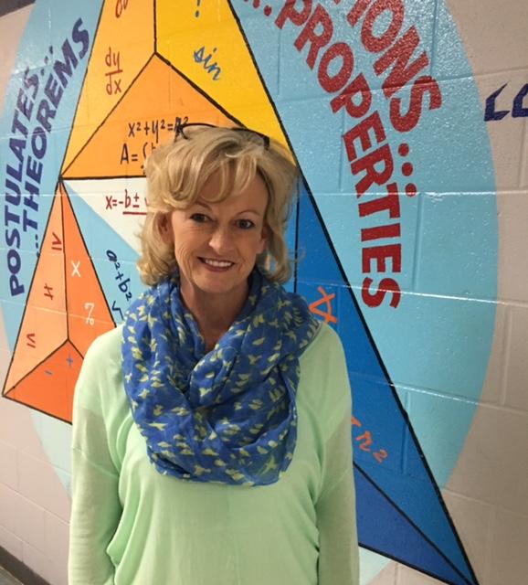 Teacher of the Month Carol Cook