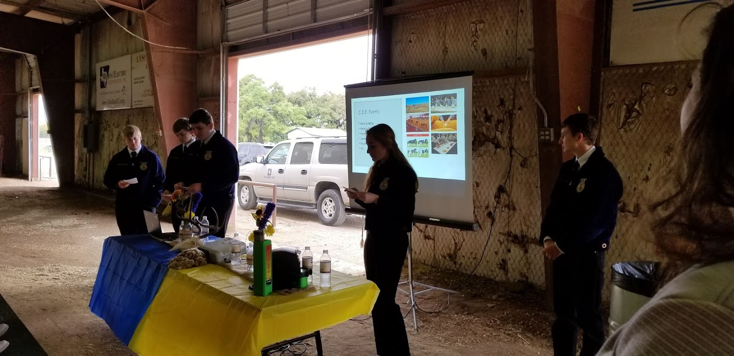 FFA presents at AG Day