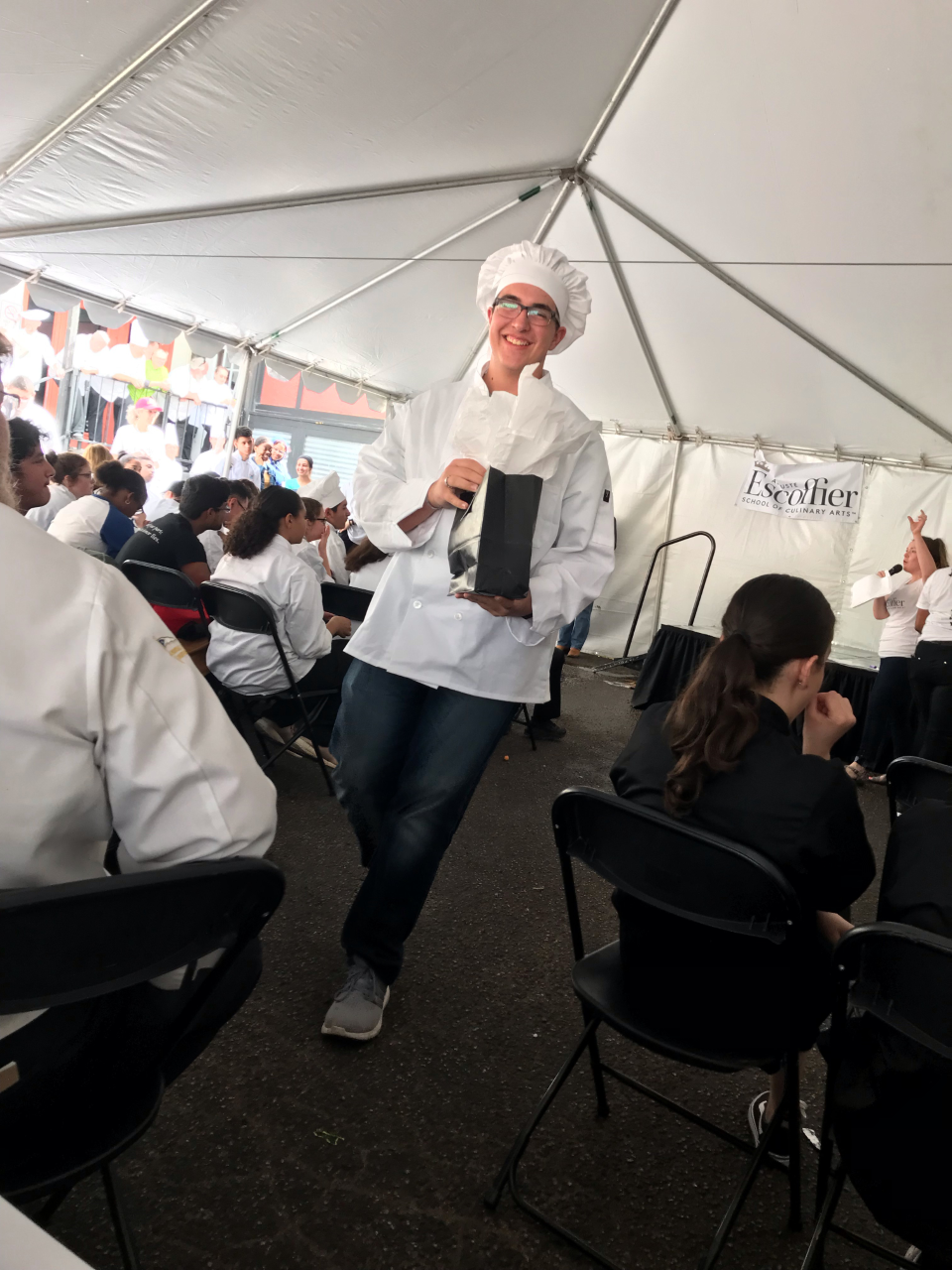 Students compete in Culinary Challenge
