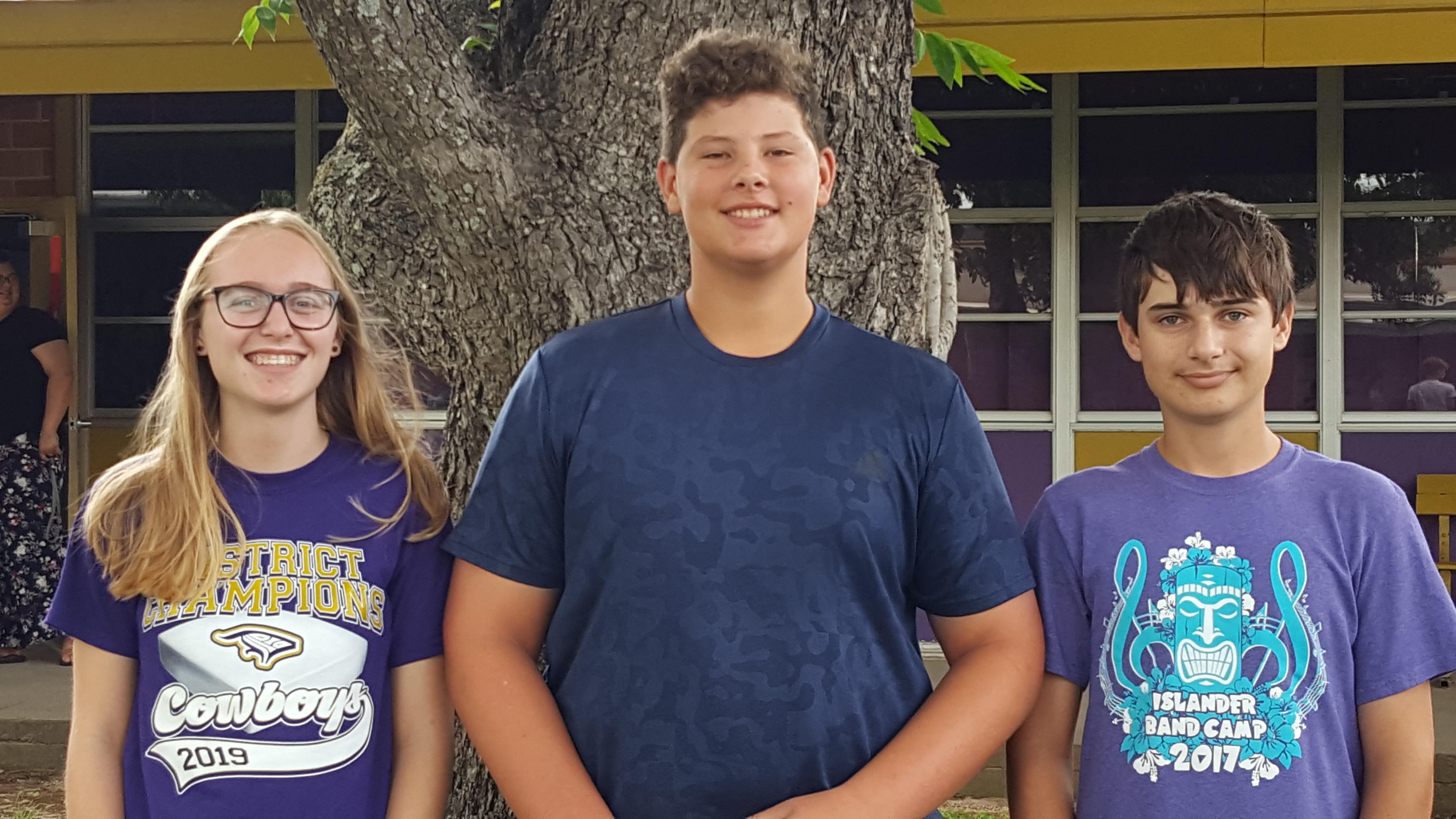 High School Perfect Attendance Winners