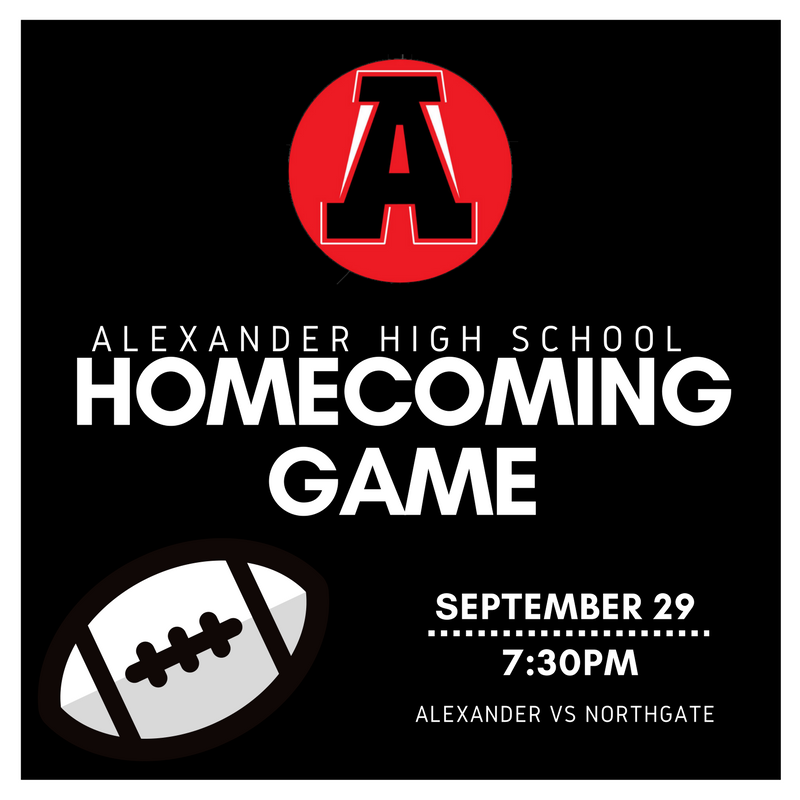homecoming is now September 29