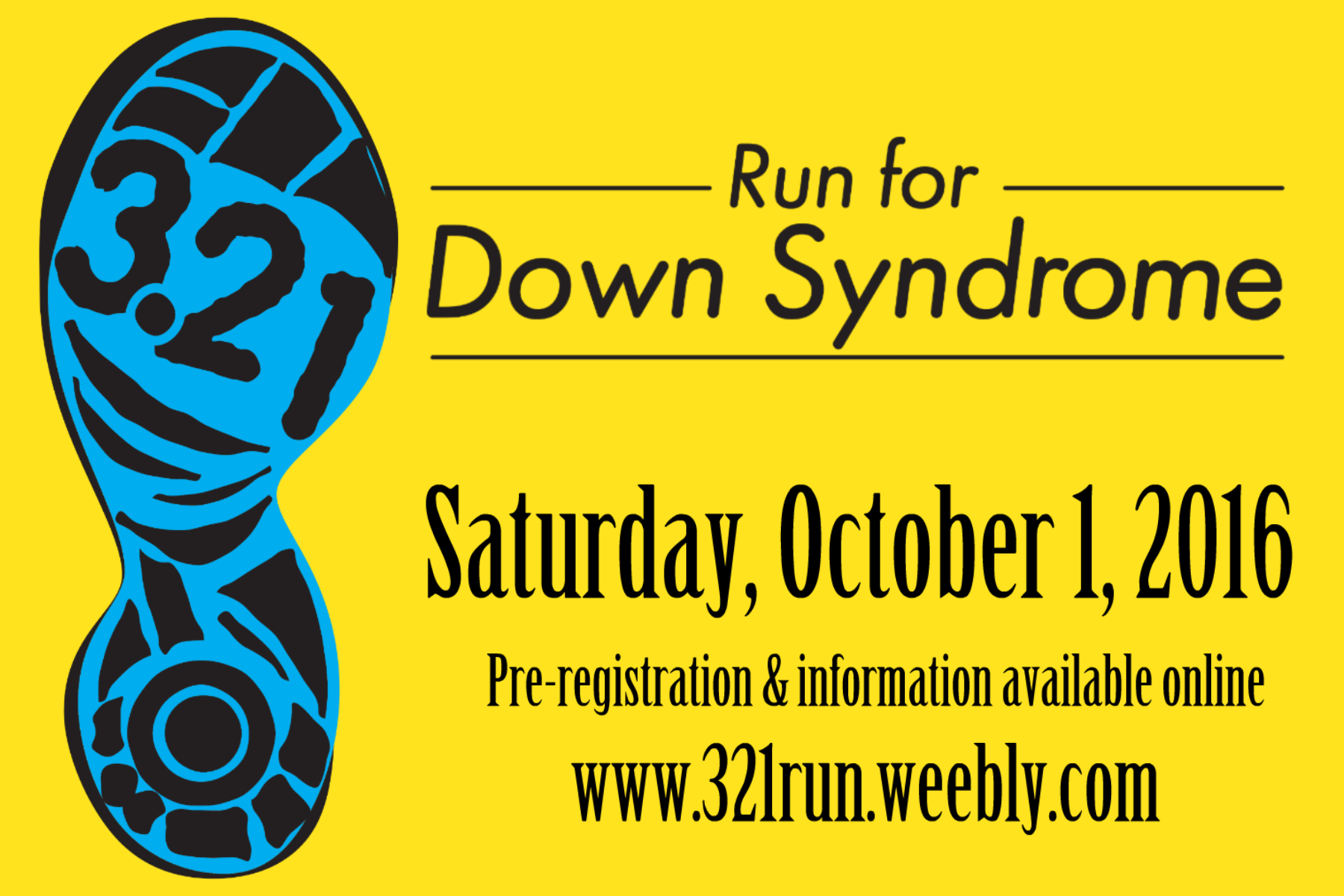 Run for Down Syndrome image and link