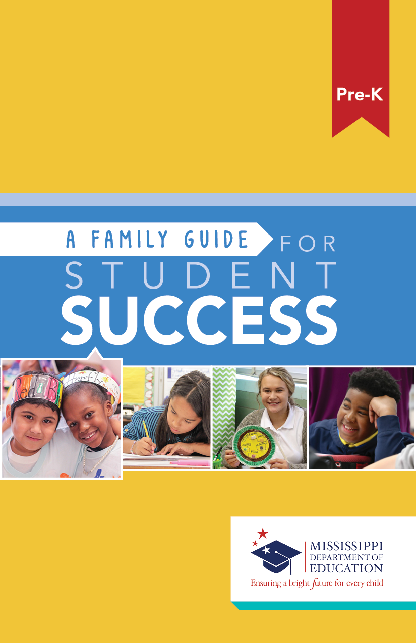 A Family Guide for Student Success - Pre-K
