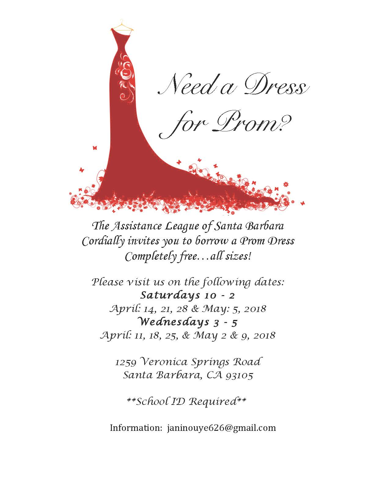 Pioneer Valley High School: Latest News - Need a Dress for Prom?