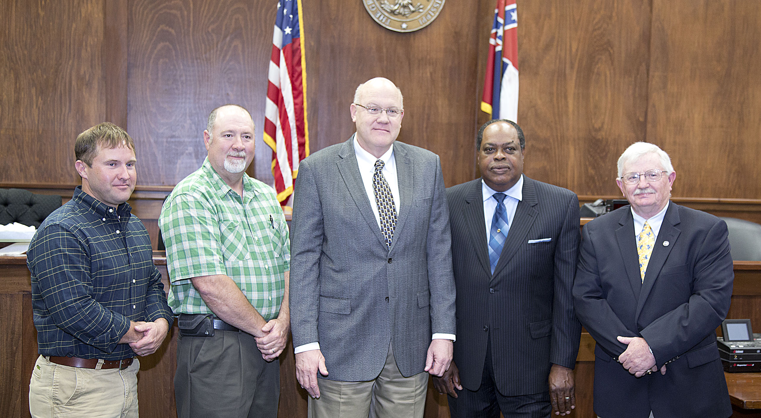 The newly elected Scott County Board of Education, April 21, 2015.