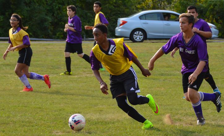 PVPA vs Bart Soccer Game, Fall 2016