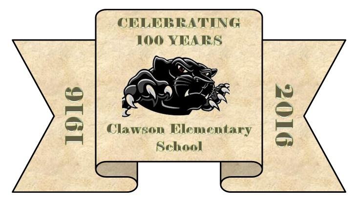 100 Year Anniversary Ribbon
