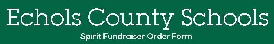 2018 Spirit Fundraiser Banner