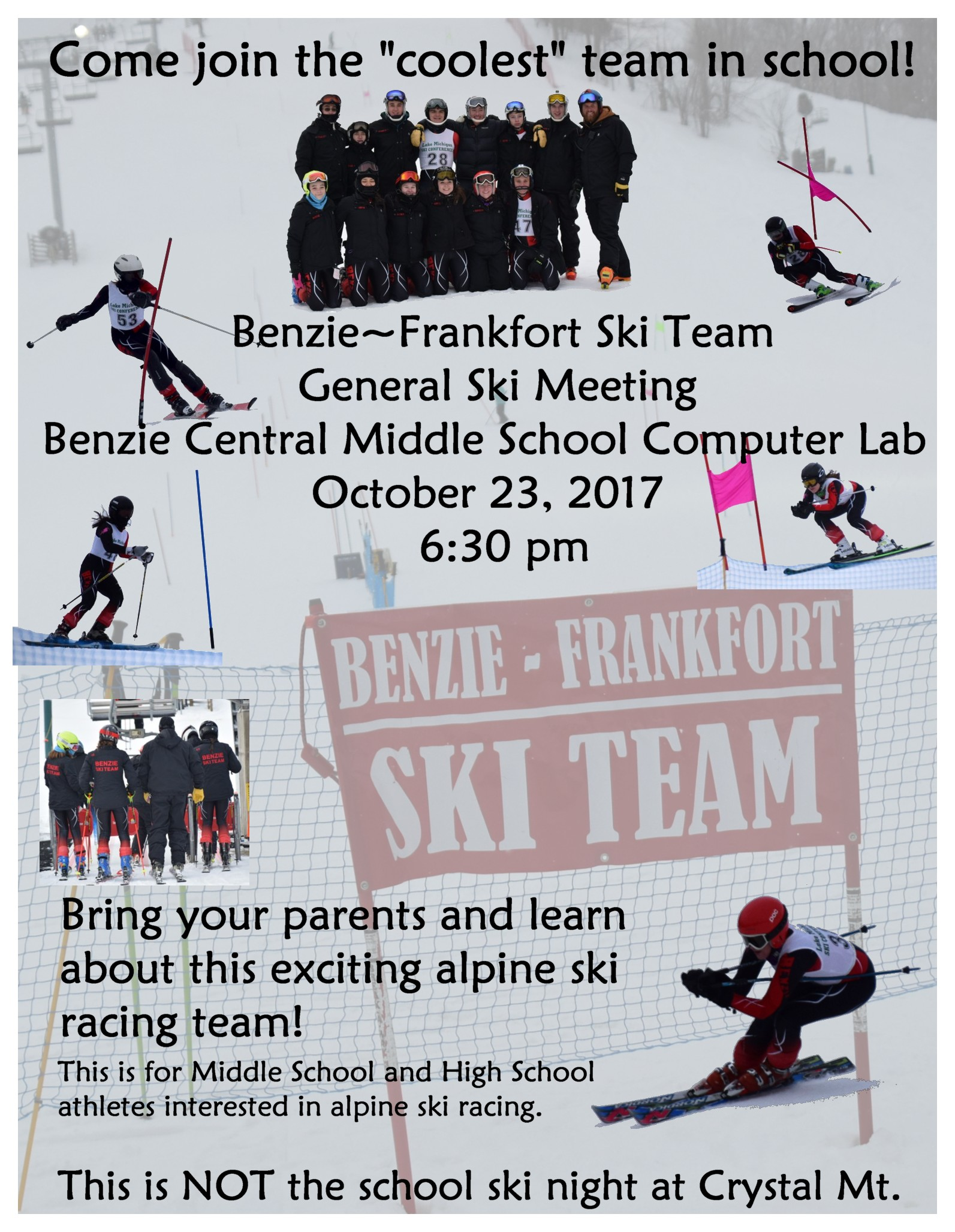 Ski Team Informational Meeting