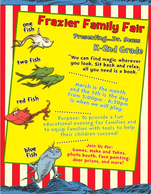 Frazier Family Fair for March 5, 2020