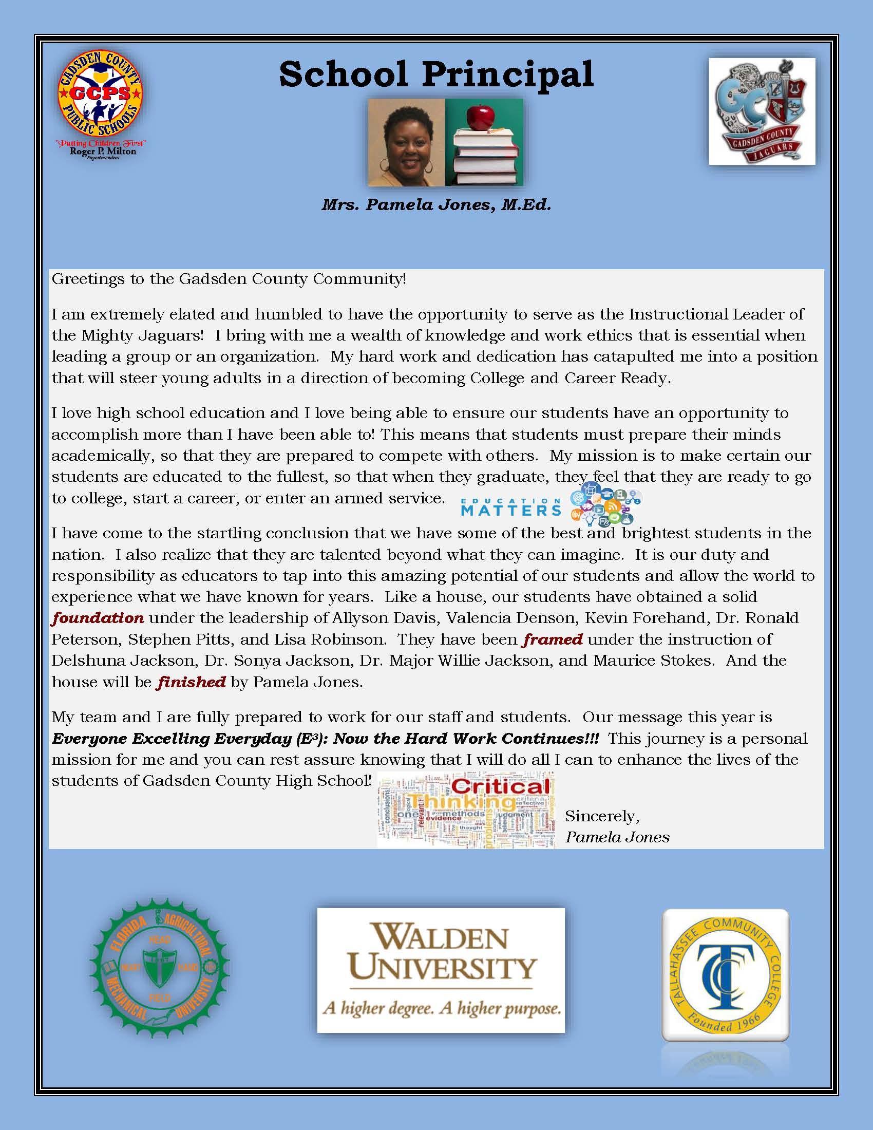gadsden county high school bio