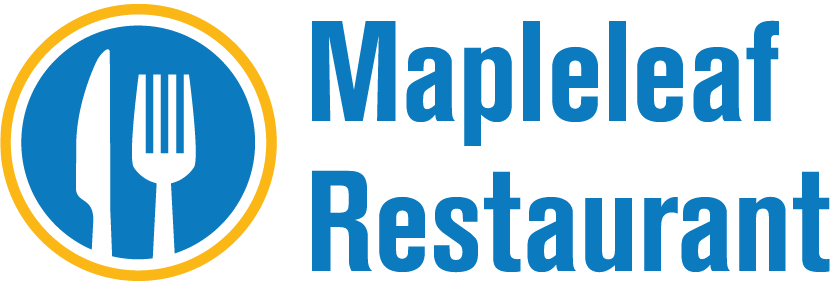 Maple Leaf Restaurant Button