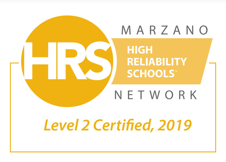 High Reliability School Level 2 Certification Picture