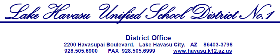 District Letterhead image