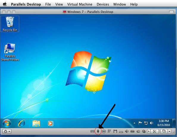 Windows USB in Parallels