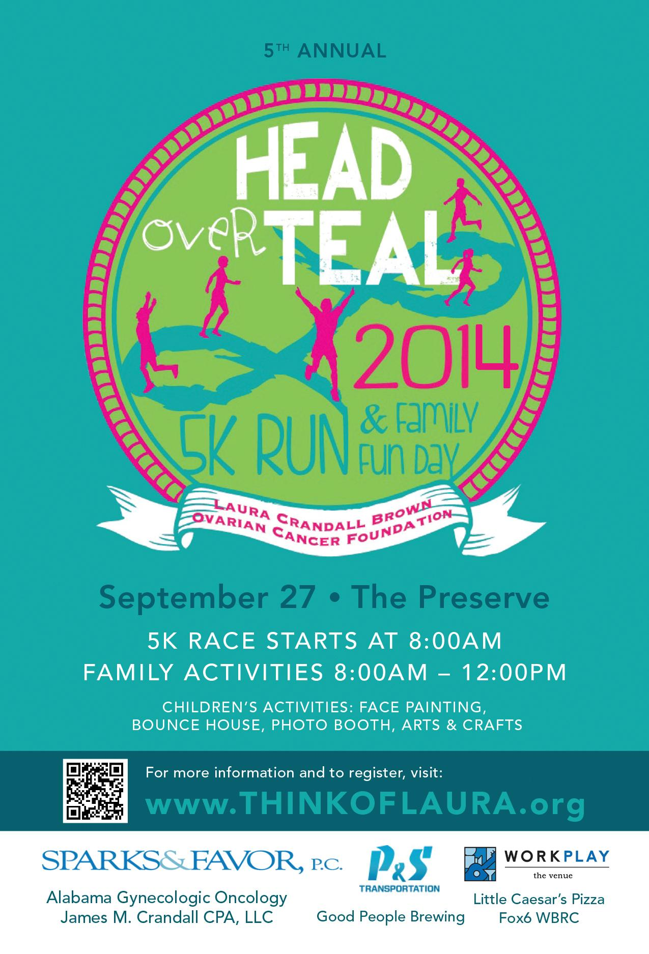 Head Over Teal 2014