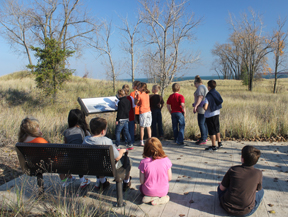 Students participate in Mother Nature's Classroom