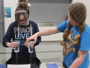 Students explore science
