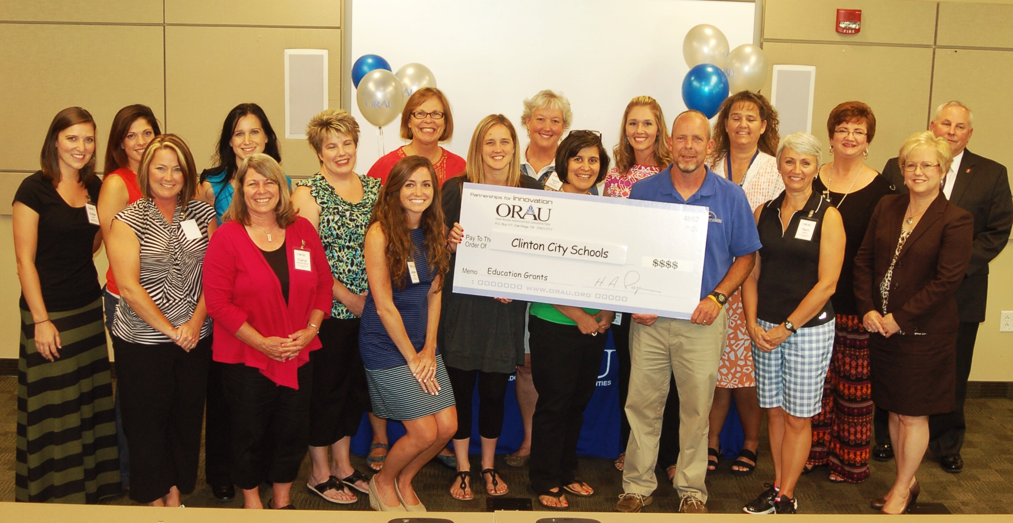 ORAU Grant Winners