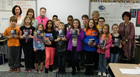 3rd graders get dictionaries