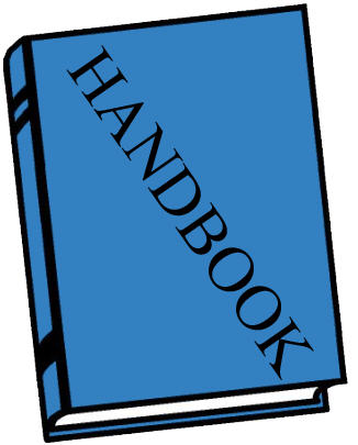 Image result for clip art for a student handbook