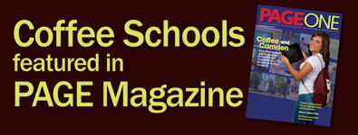 Coffee Schools featured in PAGE Magazine