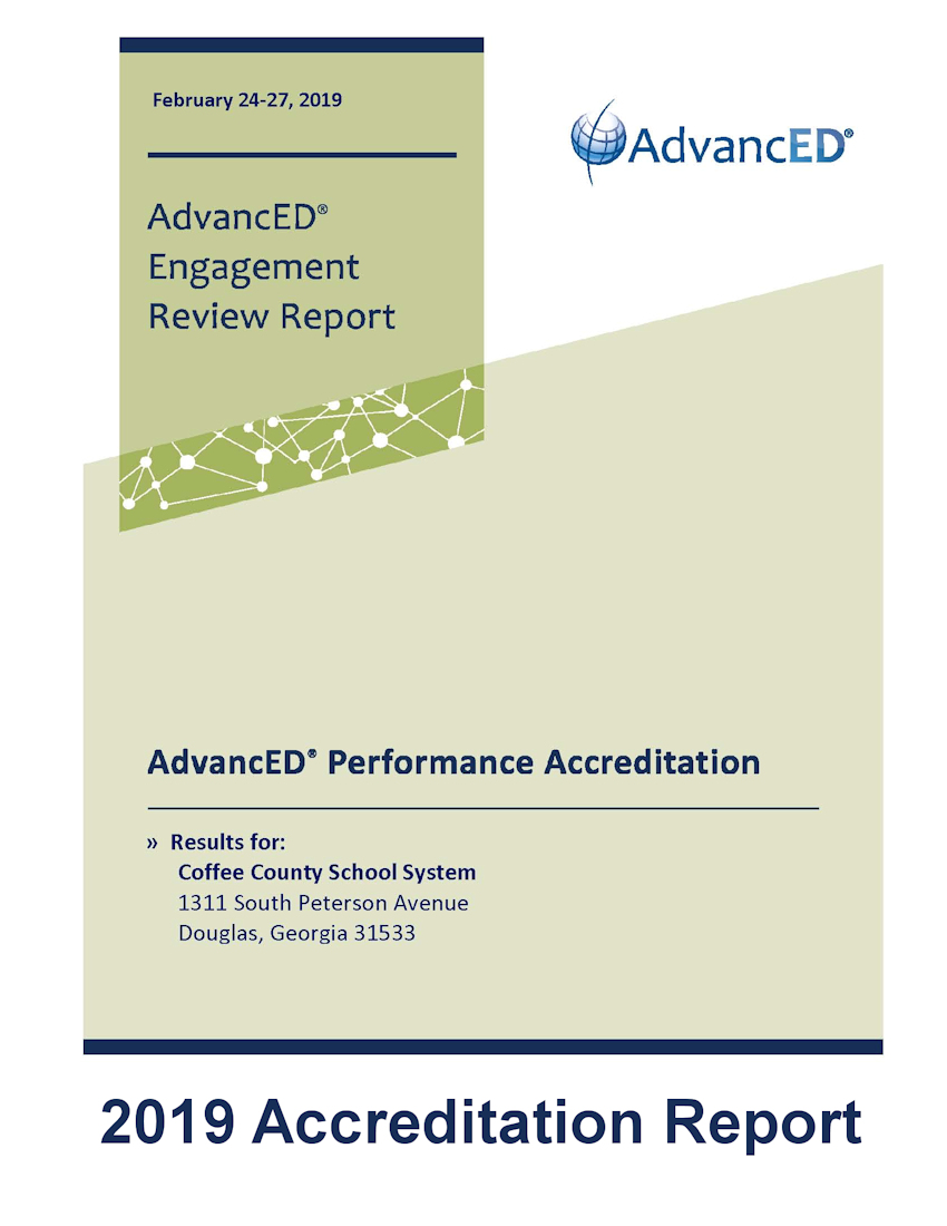 2019 Accreditation Report