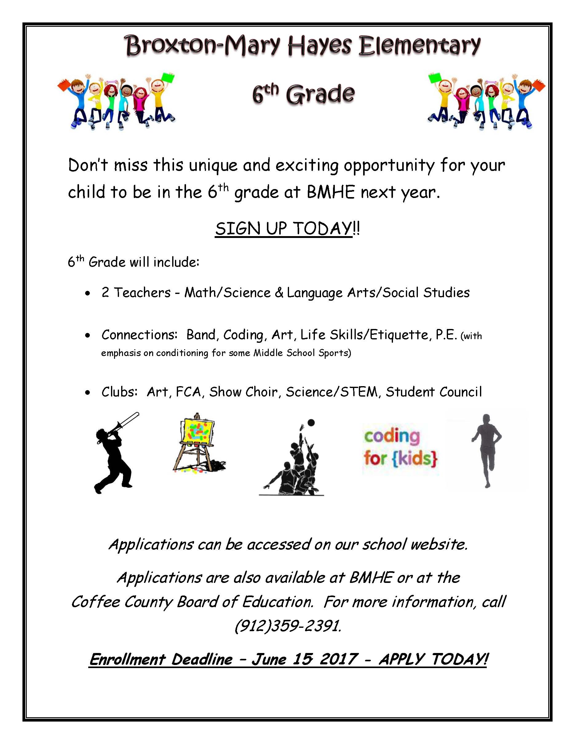 Indian Creek Elementary School: Broxton-Mary Hayes to Offer 6th Grade