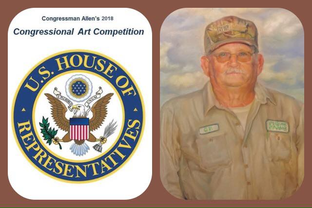Daniel Hughes - Winner of Congressional Art Competitions