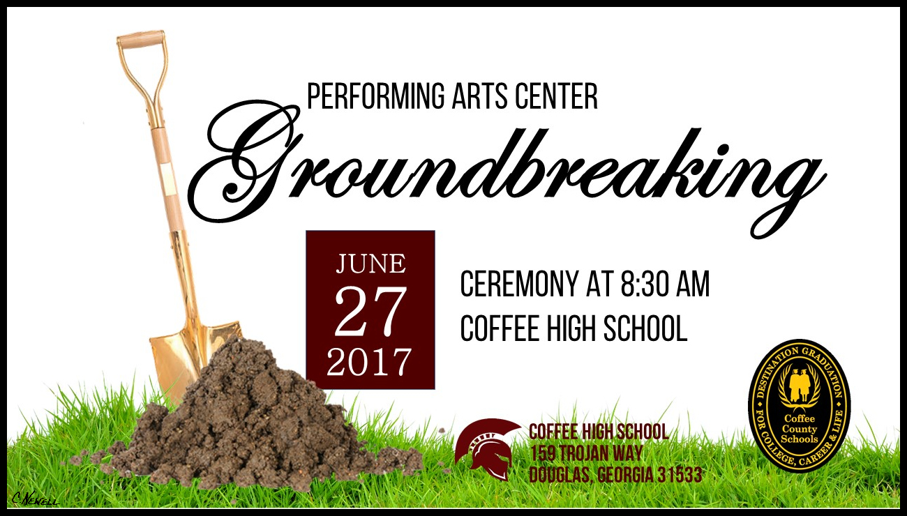 Performing Arts Center Groundbreaking