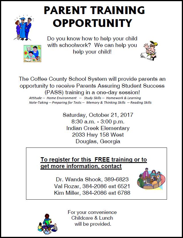 PASS Training, October 21 2017
