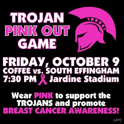Trojan Pink Out Game