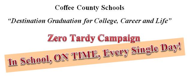 Zero Tardy Campaign Header