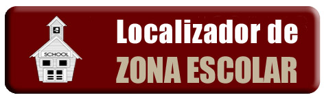 button to access Localizador de Zona Escolar