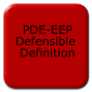 PDE-EEP Defensible Definition