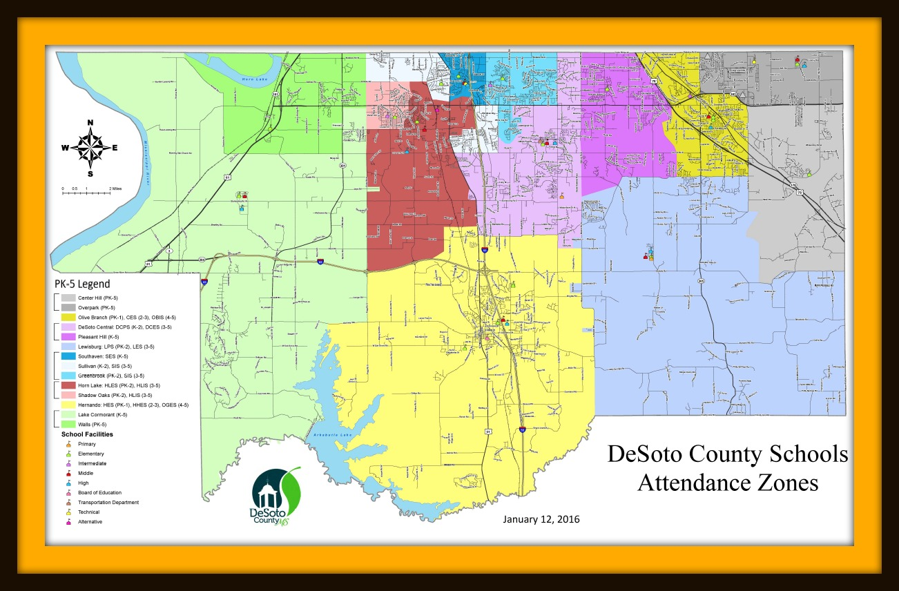 DCS School Zone Map | School Zone Map (Image) | Welcome to Desoto CSD