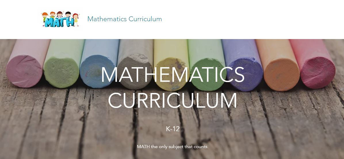 Mathematics Coordinator Website Link