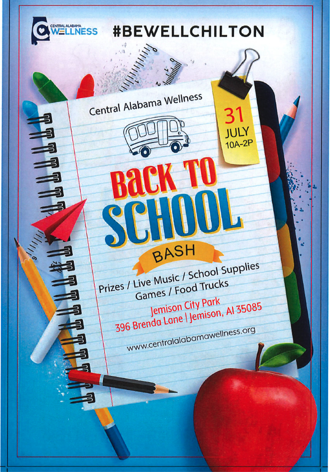 Be Well Back To School Bash
