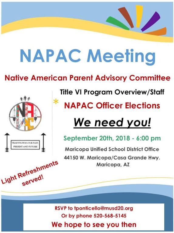 NAPAC Meeting