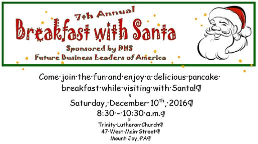 Breakfast With Sants