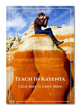 Kayenta Landscape - Photographed by Sandy Tsosie