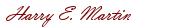 Mr. Martin Signature