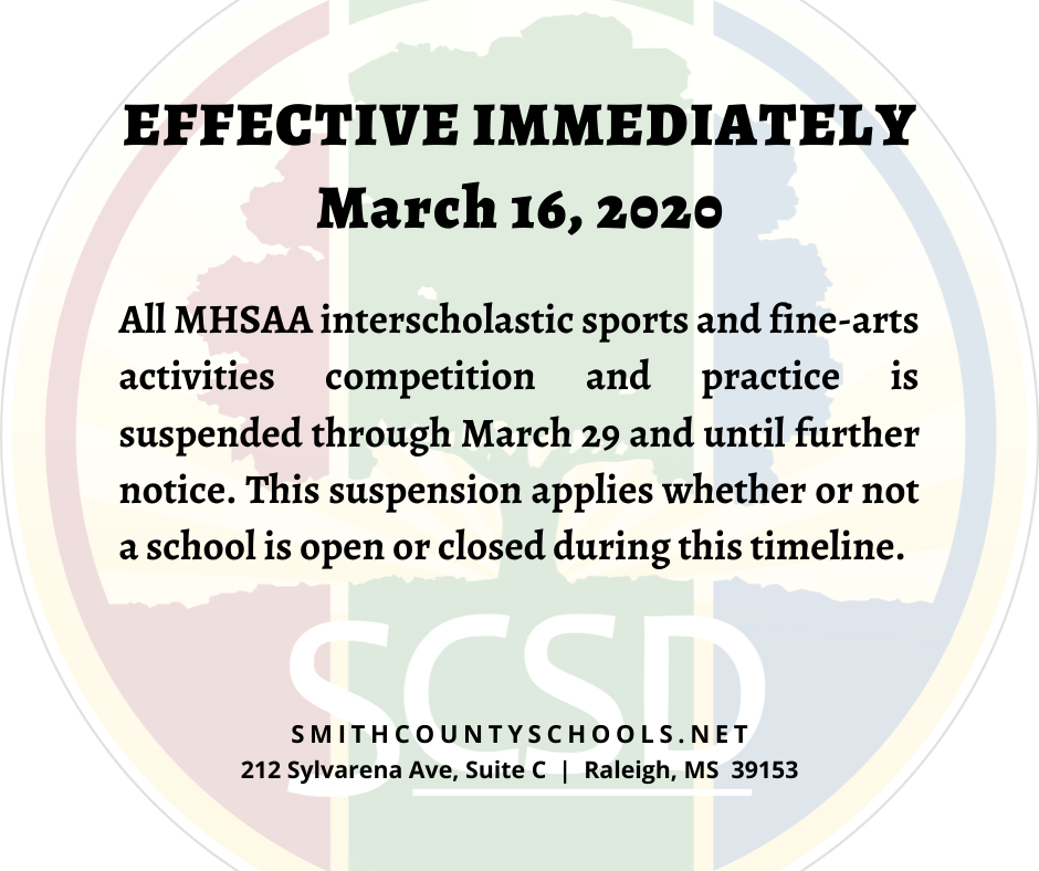 Media Release from the Smith County School District
