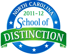 NC School of Distinction 2011-2012