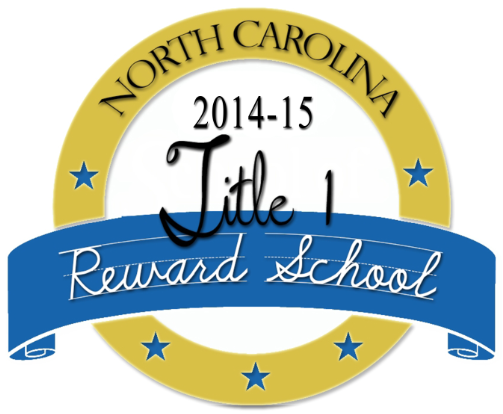 NC Title I Reward School 2014-2015