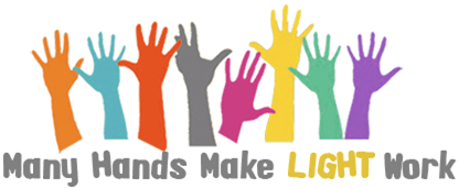 Many Hands Make Light Work logo