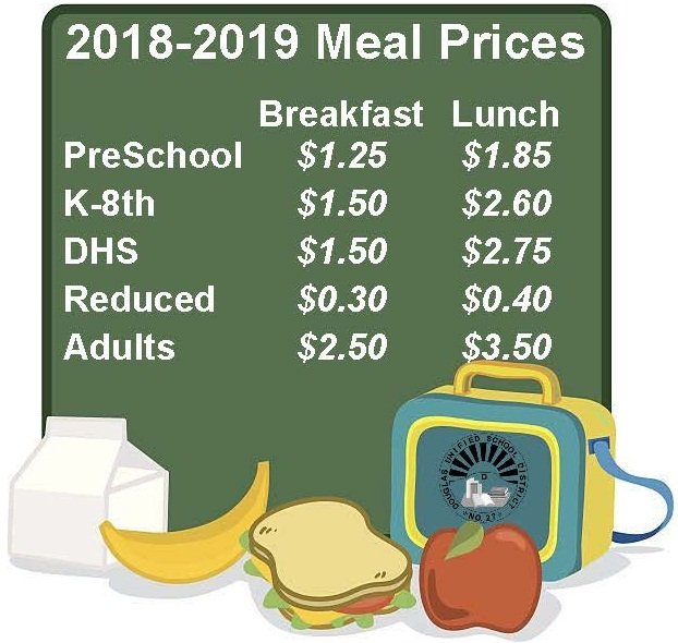 18-19 Meal Prices