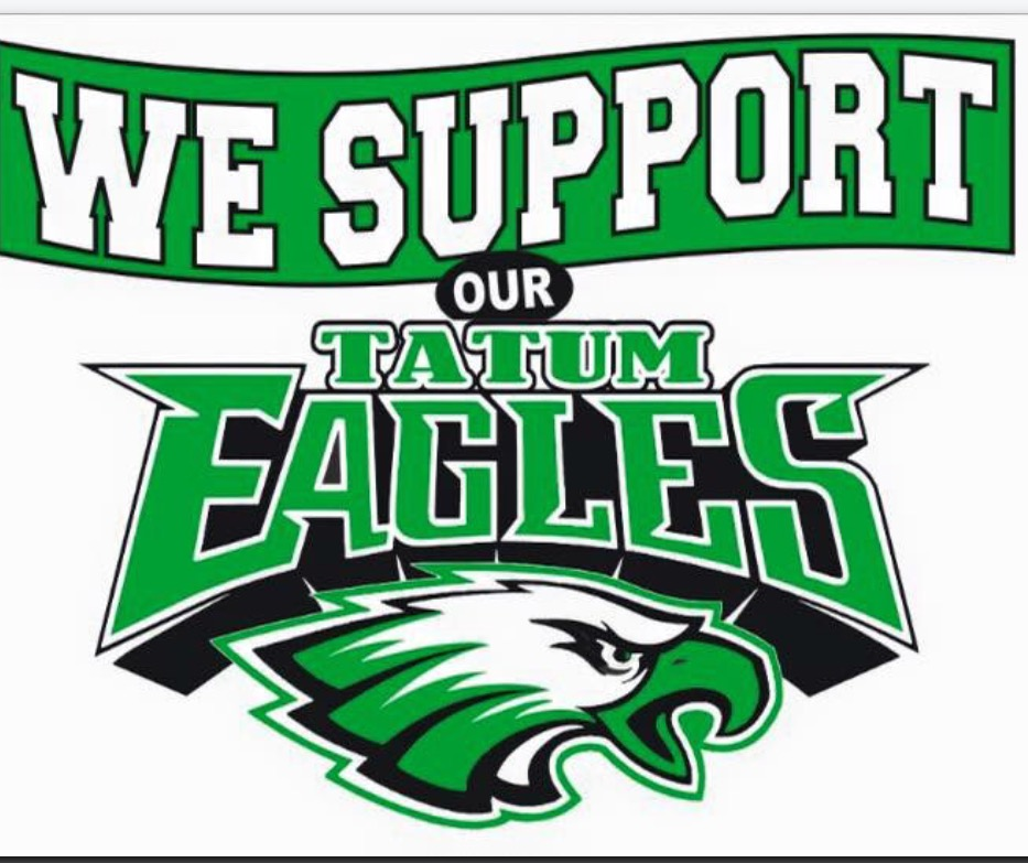 We support our Tatum Eagles